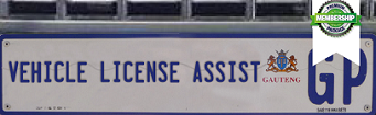 Vehicle License Assist Logo